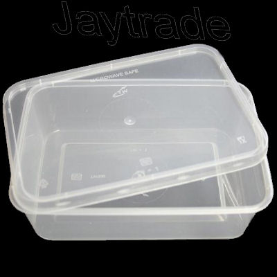 Plastic microwave containers