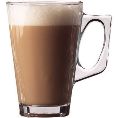12 X Latte Glass Mugs 8 8oz 250ml Conic Coffee Mugs Irish Coffee Doz Glasses
