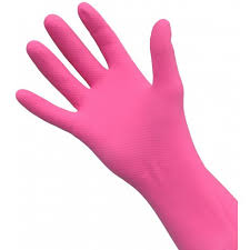 4mps Small Marigold Gloves Pink
